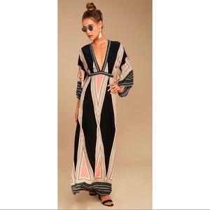 NWT Lulu's Montecito Maxi Dress Sz L